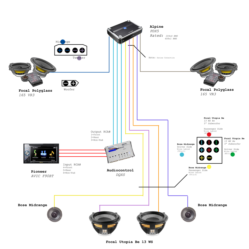 Sound System Wiring Diagram : Avic f bt wiring diagram images