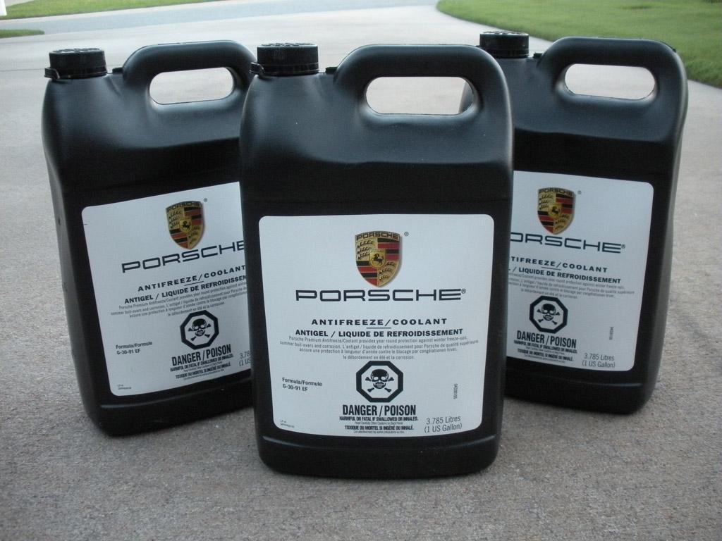 3 Sealed Bottles Of Porsche Oem Coolant - 986 Forum