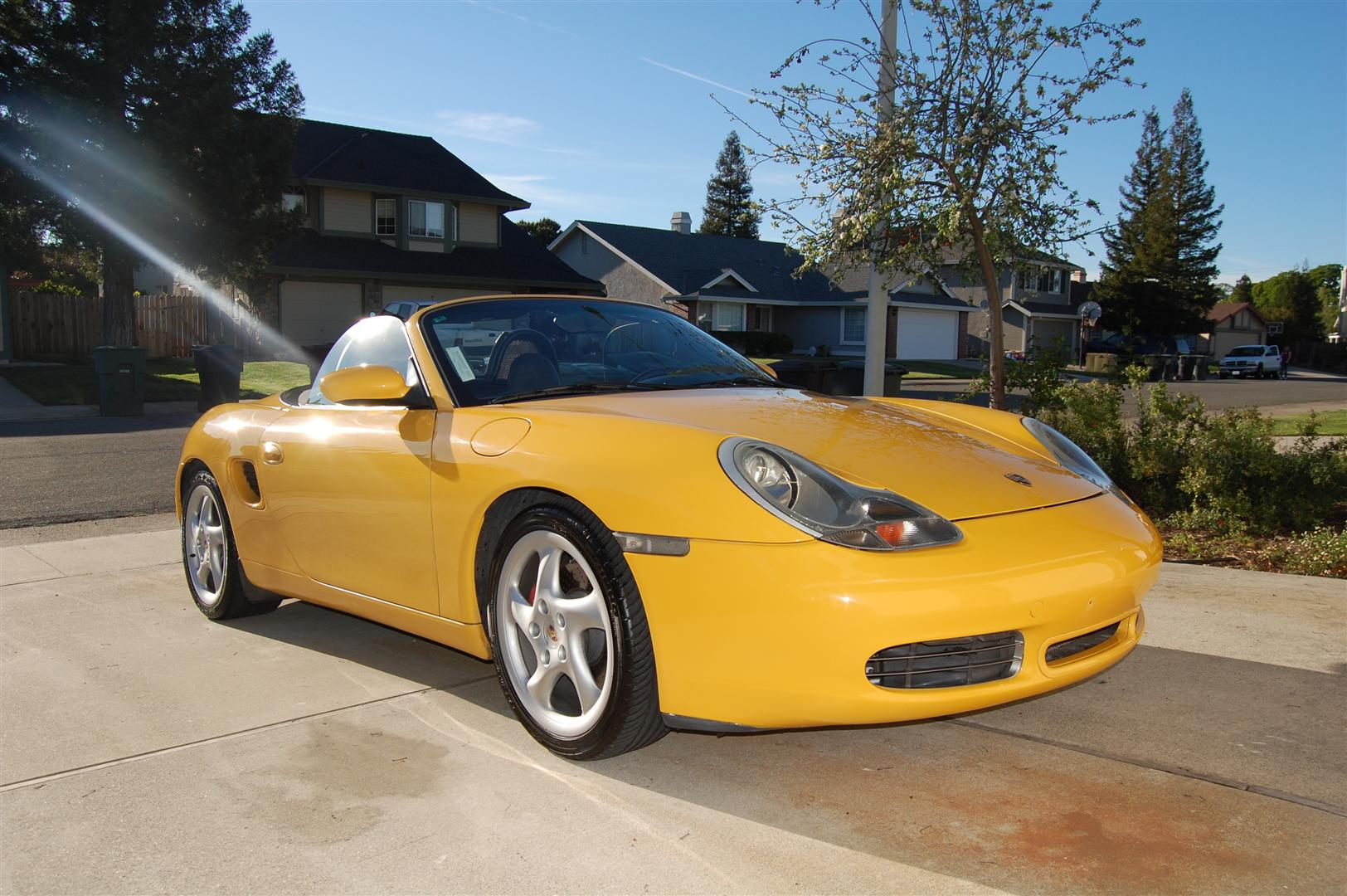 100 2000 Porsche Boxster Owners Manual Jacking Up