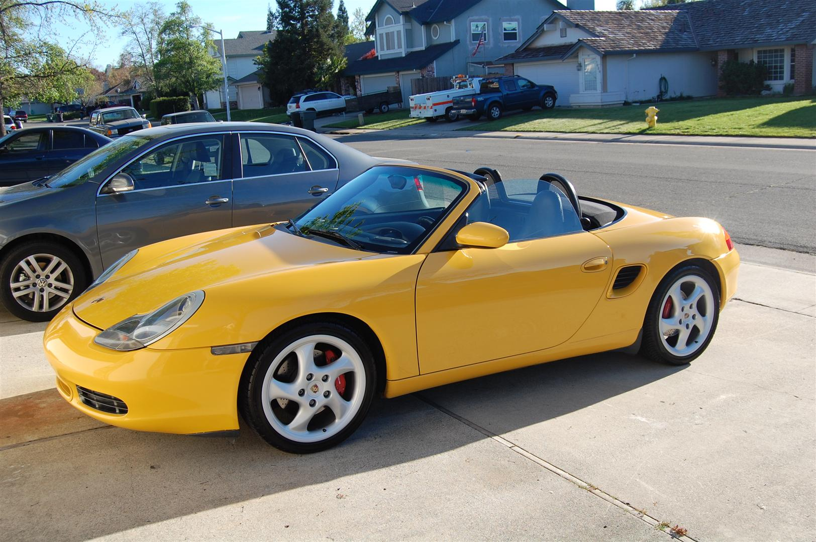 2000 speed yellow boxster s all books keys records in sacramento ca 986 forum for. Black Bedroom Furniture Sets. Home Design Ideas