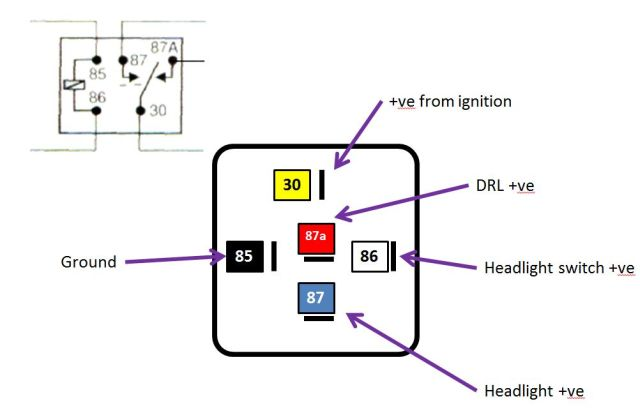 Drl Relay Wiring - 12.4.msjsports.nl • on