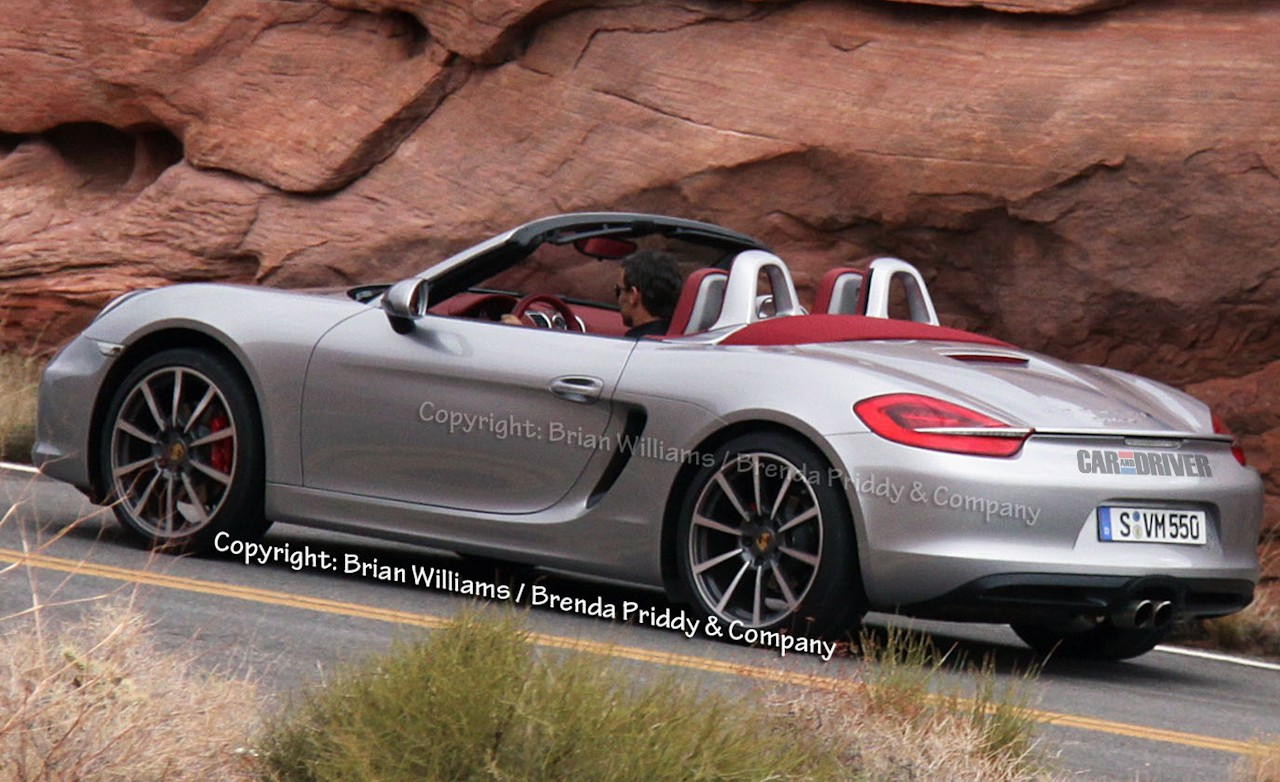 2013 porsche boxster spied completely undisguised gallery 986 forum for porsche boxster. Black Bedroom Furniture Sets. Home Design Ideas