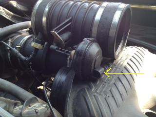 uh oh pulled intake and now have vacuum lines flopping around attached images