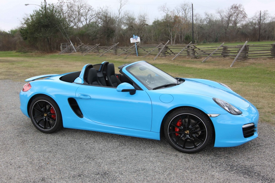 Riviera Blue Boxster S 986 Forum For Porsche Boxster