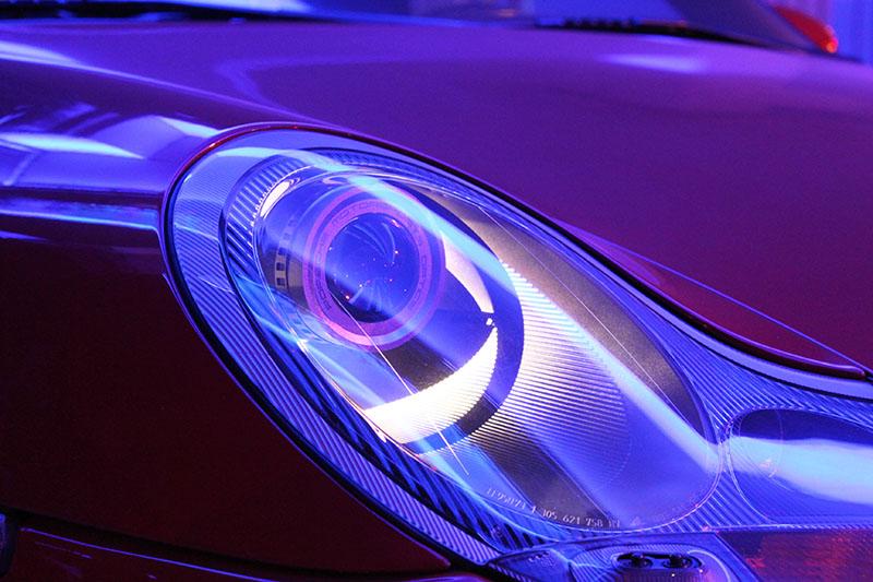 Porsche Headlight Retrofit [from CAD, prototyping to finish