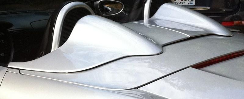 For Sale Arctic Silver Speedster Humps Factory Porsche