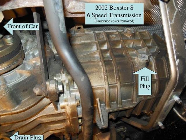 Help - '02 S Manual Transmission Oil Change - 986 Forum - for