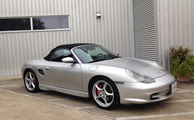 2003 porsche boxster s 50 years of the 550 spyder 986. Black Bedroom Furniture Sets. Home Design Ideas