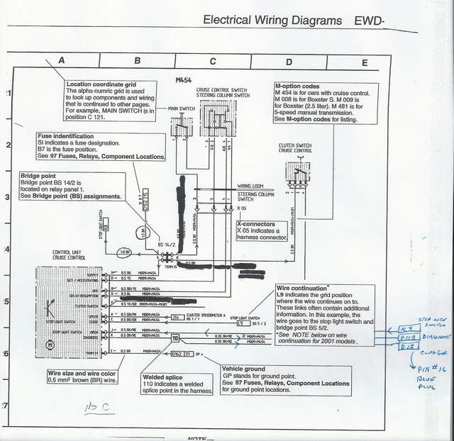 electrical wiring help 986 forum for porsche boxster owners and others