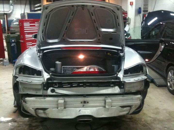 Rear Trunk Issue 986 Forum For Porsche Boxster