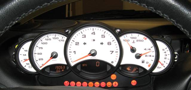 Carrera Gauge Swap - 986 Forum - for Porsche Boxster