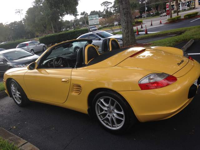 2003 speed yellow boxster for sale 986 forum for porsche boxster cayman owners. Black Bedroom Furniture Sets. Home Design Ideas