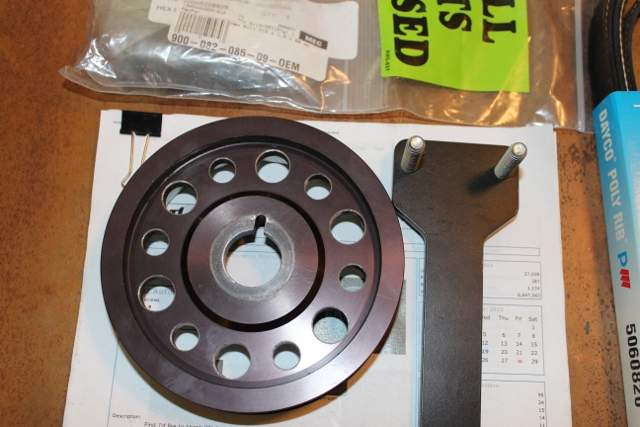 EBS Racing Under-Drive Underdrive Pulley for Porsche - 986