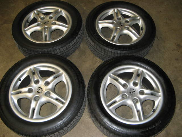 986 16 rims and tires for sale 986 forum for porsche boxster cayman owners. Black Bedroom Furniture Sets. Home Design Ideas