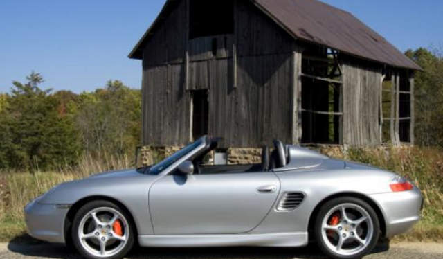 2003 Artic Silver Boxster S W Speedster Humps 986 Forum