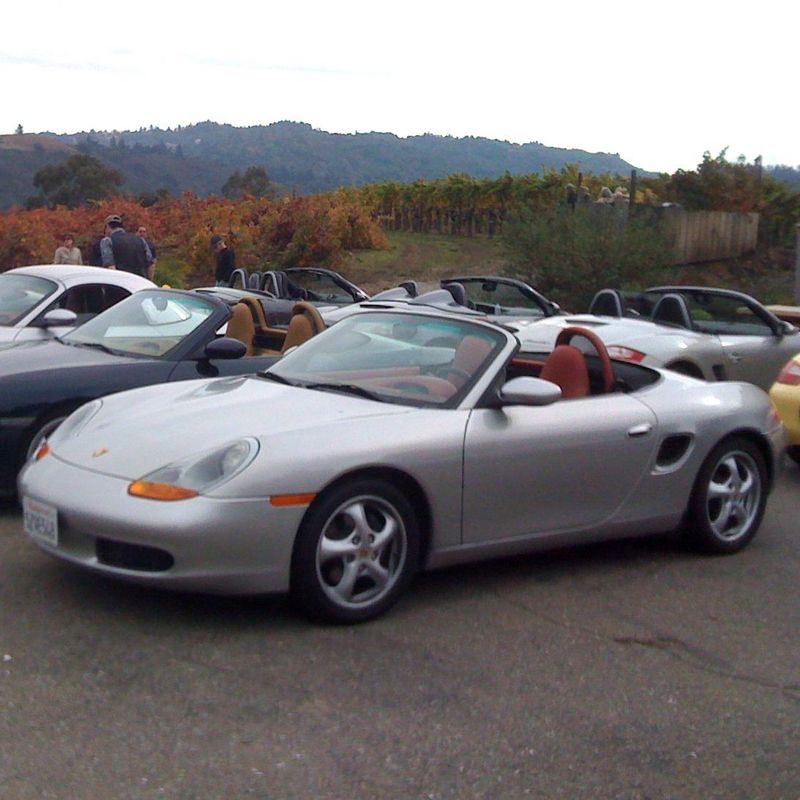 1999 boxster 2 5l silver red 5 speed 82k ims retrofit. Black Bedroom Furniture Sets. Home Design Ideas