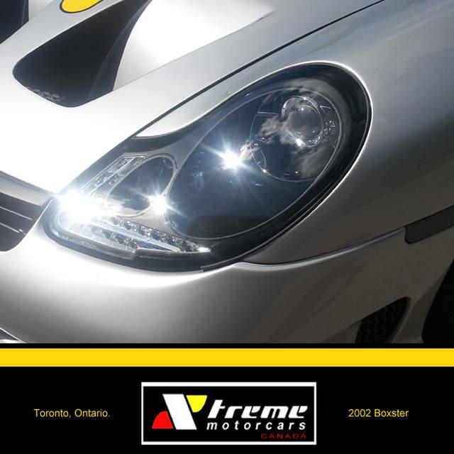 Porsche 996 Headlamp Bulb: Remove Amber Film On Headlights