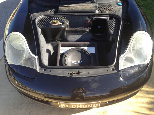 Stereo Subwoofer Question 986 Forum For Porsche