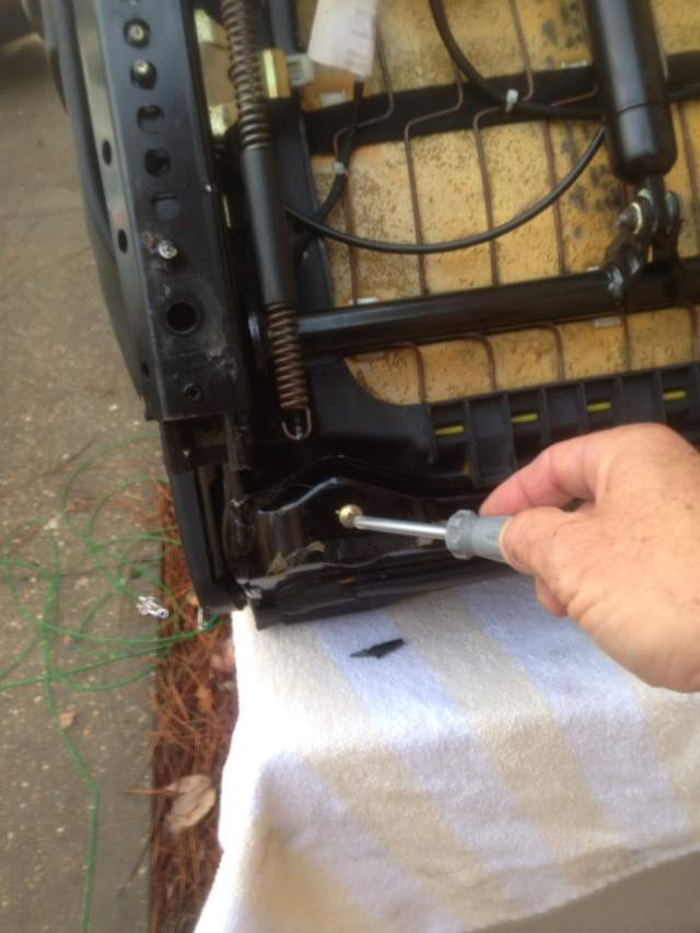 Boxster Seat Disassembly Procedure Part 1 Of 2 986 Forum