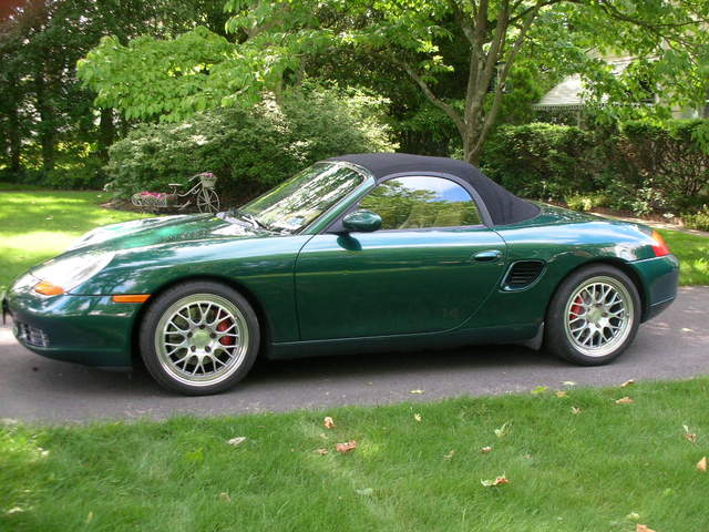 Green Boxsters Out There Page 2 986 Forum For