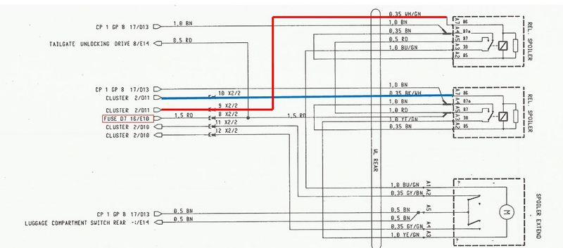 Wiring Diagram For Rear Wing - Page 2 - 986 Forum