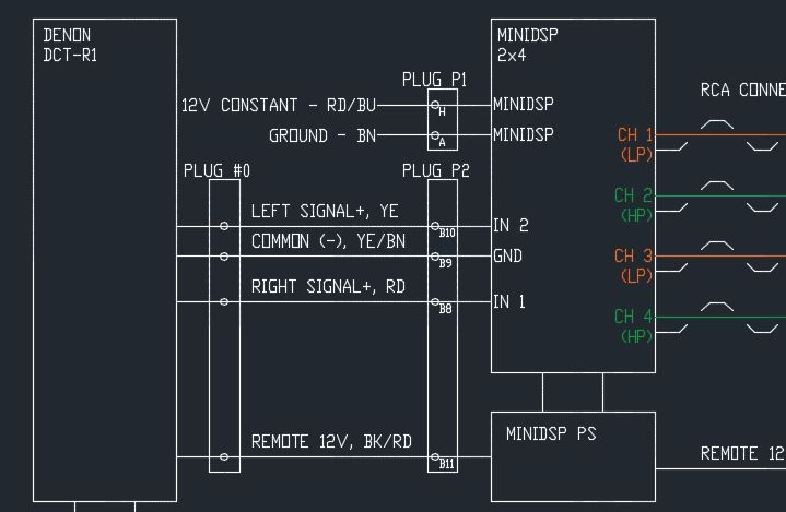 Amp Plug Wire Question Poweron 986 Forum For Porsche Boxster
