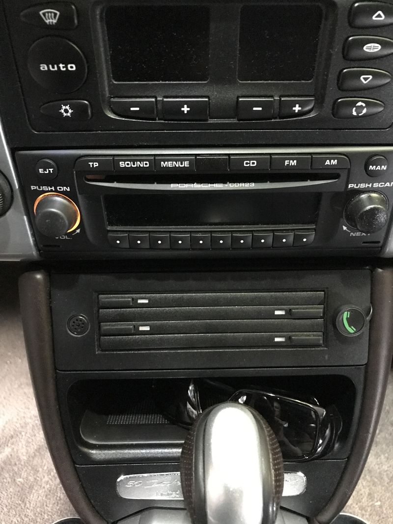 New Owner 2003 986 Radio Upgrade Questions Forum For Porsche Cdr 24 Wiring Here Is A Picture Of My Installation